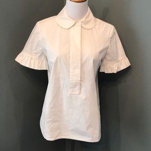 Tory Burch 1/2 Button blouse